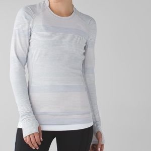 lululemon athletica Tops - Lululemon think fast long sleeve top